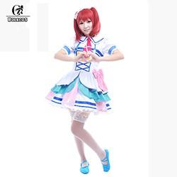 ROLECOS-Aqours-Member-Ruby-Chika-Hanamaru-Mari-Riko-You-Cosplay-Dress-Anime-Love-Live-Sunshine-Costume