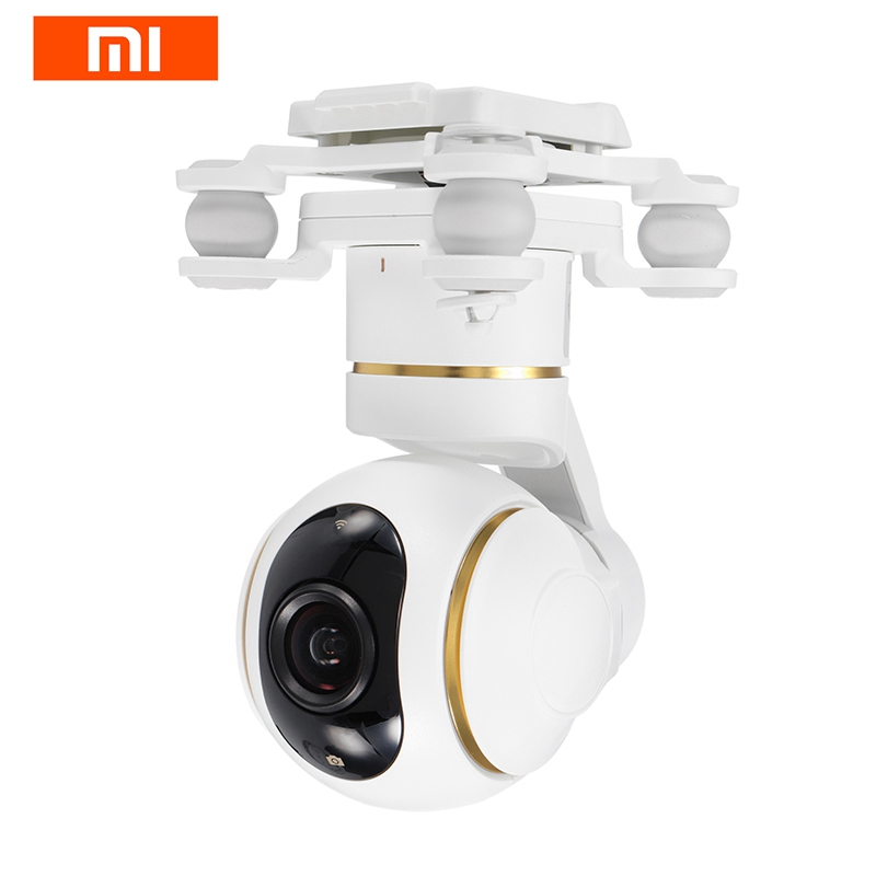 Original Xiaomi Mi Drone RC Quadcopter Spare Parts 4K Version Gimbal HD Camera For RC Camera Drones Accessories Accs original xiaomi mi drone 4k 1080p version rc fpv quadcopter spare parts 17 4v 5100mah lipo battery for camera drones accessories