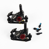 ZOOM MTB bicycle brake Calipers Line Pulling Hydraulic Disc Brake Calipers