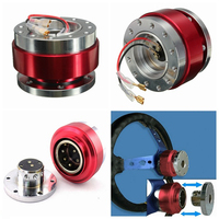 Hot Newest Universal Car Auto Steering Wheel Quick Release Hub Adapter Snap Off Boss Kit