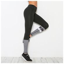 Women s New Running Tights Black Sport Leggings Ladies Mesh Print Yoga Pants Breathable Quick Dry