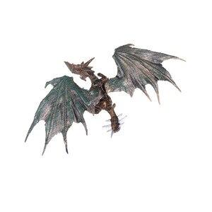Image 4 - 4 개/대 클래식 diy 조립 공룡 드래곤 날개 몬스터 액션 피규어 쥬라기 시대 교육 어린이 베이비 완구