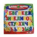 NUEVO Idioma Ruso Alfabeto Bebé Bloque Utilizado Como Imanes del Refrigerador Del Alfabeto de Juguetes Educativos de Aprendizaje y Educación de Juguetes De Bebé