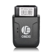 OBD2 GPS tracker TK206 OBD 2 Real Time GSM Quad Band Anti theft Vibration Alarm GSM