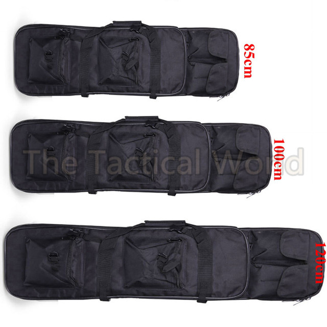 Airsoft 85 100 120cm Gun Bag Case Rifle Backpack Military Hunting Dual Rifle Bag case Square Carry Bags Outdoor Gun Accessories 2