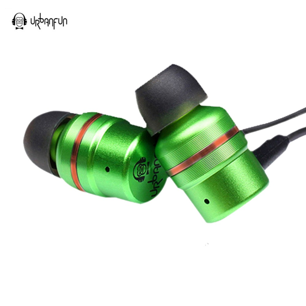 Original URBANFUN earphone  Beryllium Drive hifi in ear earphone Headset Earplug with Microphone for mobile phone original senfer dt2 ie800 dynamic with 2ba hybrid drive in ear earphone ceramic hifi earphone earbuds with mmcx interface