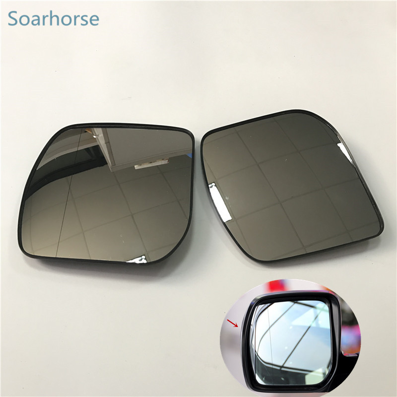 Soarhorse For Subaru Forester 2008 2009 2010 car exterior side mirror glass rear view mirror glass daker challenger side mirror pajero sport rear mirror native back mirror
