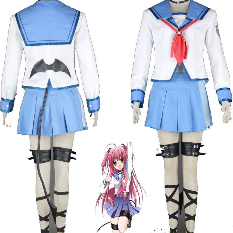 High Quality Angel Beats Chic Yui Cosplay Costume Set Whole Suit Free  Shipping-in Anime Costumes from Novelty & Special Use on Aliexpress.com |  Alibaba ...
