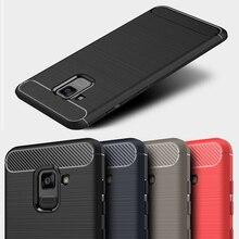 Carbon Fiber Case For Samsung Galaxy A7 2018 Cases For Samsung A50 A30 A70 A10 A40 A8 Star A6 Plus A6S A8s A9 A3 A5 2017 Covers стоимость