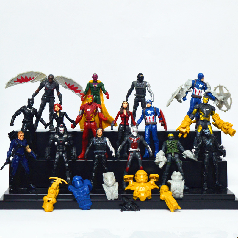 children-toys-16pcs-lot-marvel-font-b-avengers-b-font-figure-super-hero-captain-america-3-civil-war-iron-man-raytheon-action-figures-boy-toys