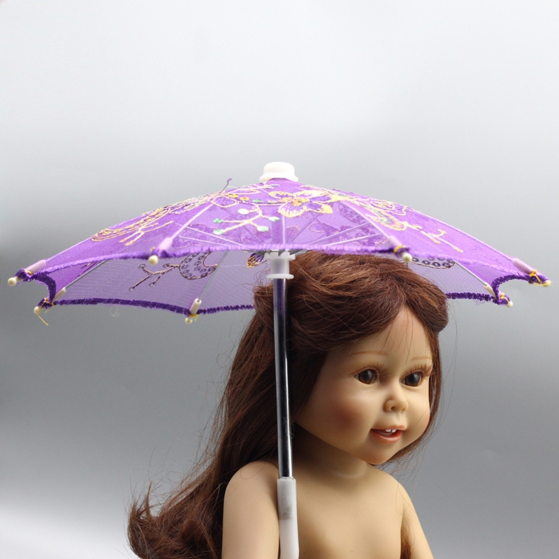BJD Doll Accessories Umbrella For 16 18 Inch Doll Toys Girl Gift Kid Gift