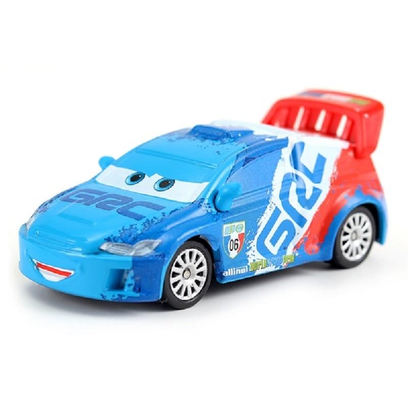 Disney Cars 3 Pixar Cars 2 Raoul Caroule Metal Diecast Toy Car 1:55 Lightning McQueen Boy Gift Girl Free Shipping