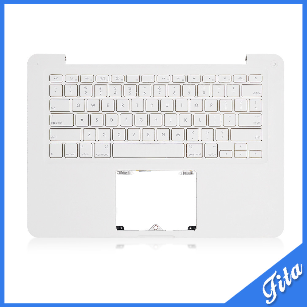 USED TopCase Housing With US Keyboard For Macbook Unibody White 13