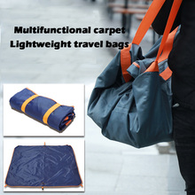 Waterproof Outdoor Carpet Portable Bag Beach Picnic Cushion Moistureproof Camping Mat Oxford Cloth Dripship