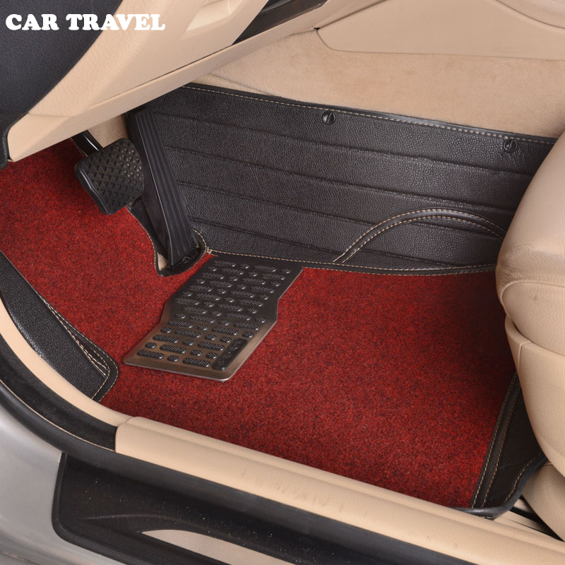 Custom car floor mats for Skoda All Model Octavia RS Fabia Superb Rapid Spaceback GreenLine Joyste car styling floor mat free shipping leather car floor mat carpet rug for skoda superb 3rd generation b8 2015 2016 2017