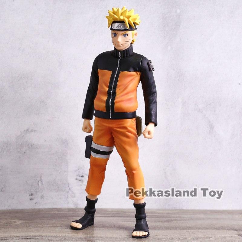 Naruto Shippuden Naruto Uzumaki Big Size Soft Vinyl Figure PVC Figure Brinquedos Dolls Toys Figurals