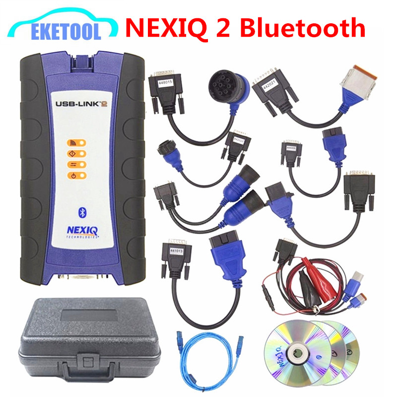 2018 Newest NEXIQ 2 USB Link Diesel Heavy Duty Truck Diagnosis Tool NEXIQ2 USB/Bluetooth USB Link Truck Full Set Best Quality 2018 Newest NEXIQ 2 USB Link Diesel Heavy Duty Truck Diagnosis Tool NEXIQ2 USB/Bluetooth USB Link Truck Full Set Best Quality