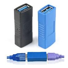 1PC Heißer USB 3.0 Adapter Stecker Typ A Buchse Auf Buchse Koppler Changer Stecker Durable für PC Laptop