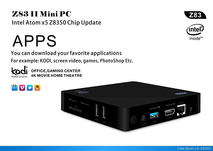 Z83II MiniPC-Intel-x5-Z8350-7