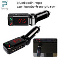 Mp3 del coche reproductor de audio bluetooth transmisor fm inalámbrico modulador de fm car kit manos libres display lcd usb cargador para el iphone samsung