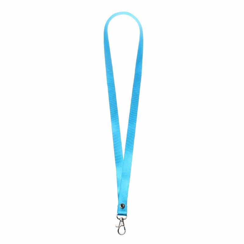 Gorąca sprzedaż wiszące smycz na szyję uprząż na paski do telefonu statyw jakości PU ID Pass identyfikator karty brelok do kluczy w kształcie pierścienia