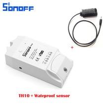Sonoff TH10 T16 Interruptor DIY Casa Inteligente Sem Fio Wi-fi Inteligente Termostato Controlador de Temperatura E Umidade Módulo Para IOS Android