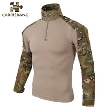 Military Style Army Combat T-Shirt Uniform Tactical T-Shirt Camouflage Tactical Clothing Men Military Uniform