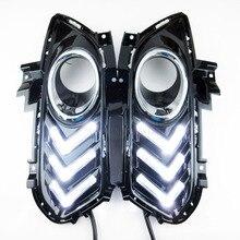 Высокое качество DRL для Ford Mondeo/Fusion 2013 ~ 2016/Габаритные огни/авто светодиодные лампы дневного с провода жгута