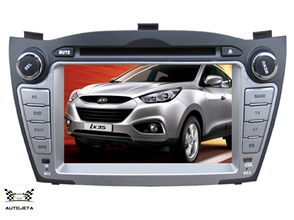 4UI intereface combined in one system CAR DVD PLAYER FOR For Hyundai iX35 Tucson 2009 2010