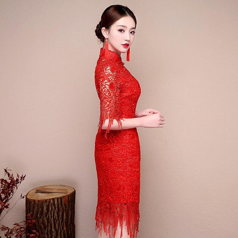 Asombroso Vestido De Novia Qipao Ideas Ornamento Elaboración ...