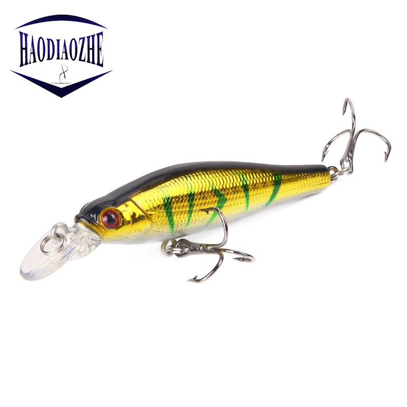 Fishing Lures Minnow 8cm 8.2g Artificial Swim Hard Bait Plastic Laser Reflective Crank Baits Winter Pesca Fishing Accessories