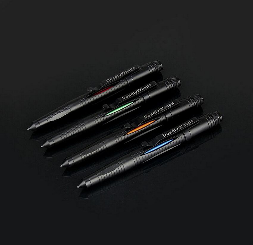 Tactical Tungsten Steel Multifunctiona broken window pen tactical defense pen, EDC portable outdoor self-defense signature tool titaner ed02 titanium tc4 tactical pen tungsten steel tip survival defense tool