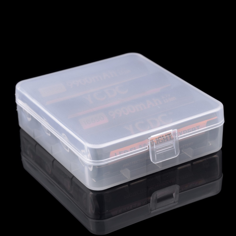 YCDC Durable 18650 Battery Storage Box Hard Case Holder For 2/4x 18650 4x AA 4xAAA Rechargeable Battery Power Bank Plastic Cases