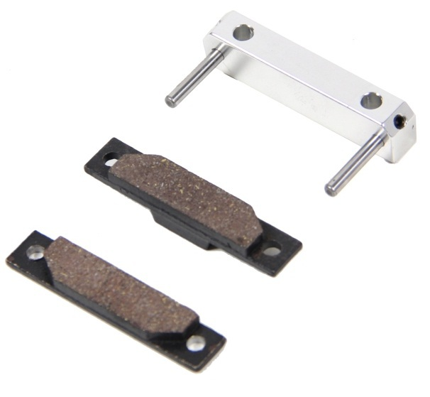 baja CNC brake pads set of seat assembly metal brake block assembly kit (sliver color)