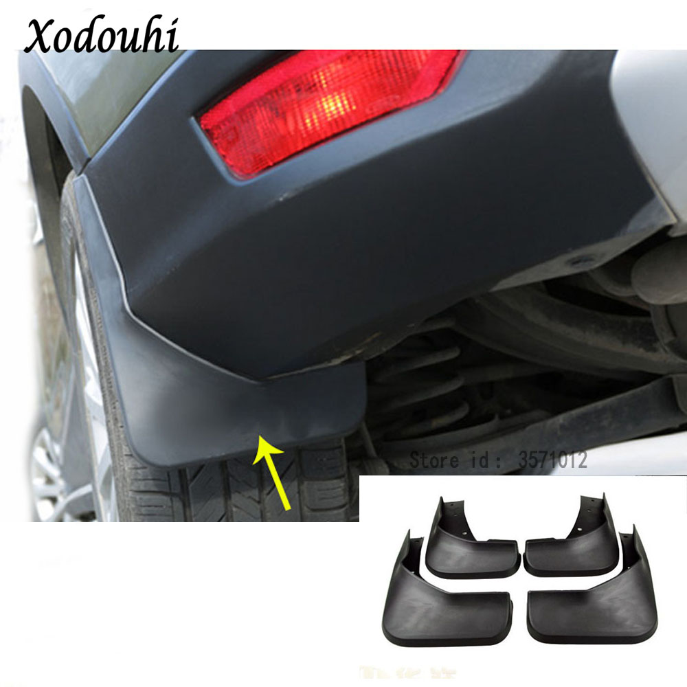 Ultra Soft Car Fender Covers: For Ford Kuga 2017 2018 2019 Car Styling Cover Plastic
