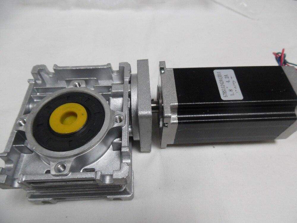 Cnc Worm Gear Stepper Motor Geared Ratio 7 5 1 Nema23