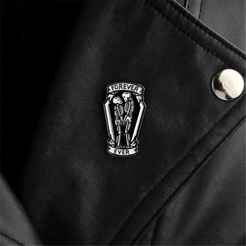 Apparel Sewing & Fabric Badges Ace Skull Ribbon Bow Lapel Pin Badge Pin Xy0066 At Any Cost