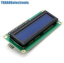 2pcs Blue Display IIC/I2C/TWI/SPI Serial Interface 1602 16X2 LCD Module airwheel покрышка 16x2 125