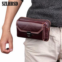 SZLHRSD Ulefone Power 3S Vernee Active iMAN Victor S Case Genuine Leather Case Phone Cover Credit Card Holder Wallet+Tracking
