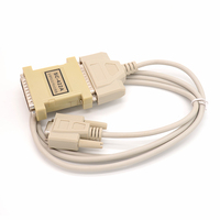 RS232/RS422 converter No power supply TXD, RXD RTS, CTS and DTR, DSR signals Maximum rate 57.6Kbps
