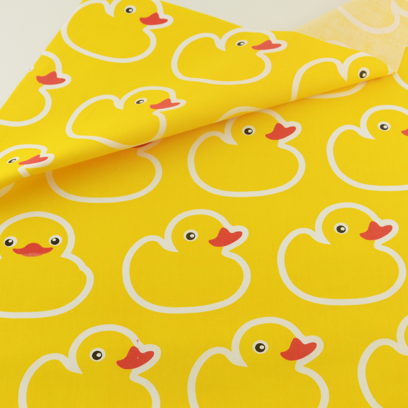 Yellow Duck Cotton Fabric Teramila Fabrics Tecido Quilting Bedding Decoration Tissue Home Textile Patchwork Sewing Cloth Craft craft