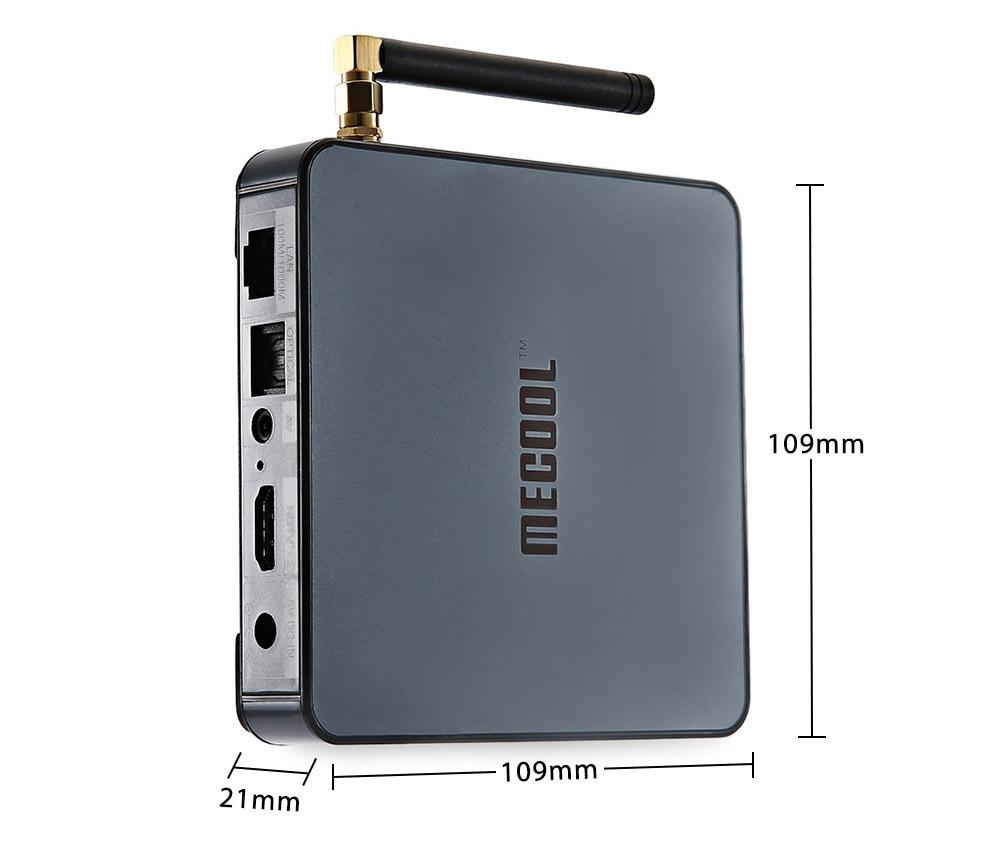 MECOOL BB2 TV Box Android 7.1 Amlogic S912 Octa Core 4K x 2K H.265 Decoding 2.4G 5G Dual Band WiFi Bluetooth 4.0 Smart Mini PC