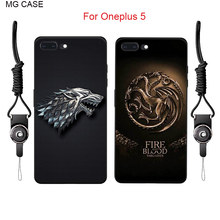 ФОТО popular the game of fire blood phone cases for oneplus 5 a5000 oneplus one 2 3 3t x cute lion wolf mobile phone bag cover shell