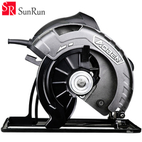 7'' Electric Circular Saw Hand held cutting machine can reverse installation Woodworking tools