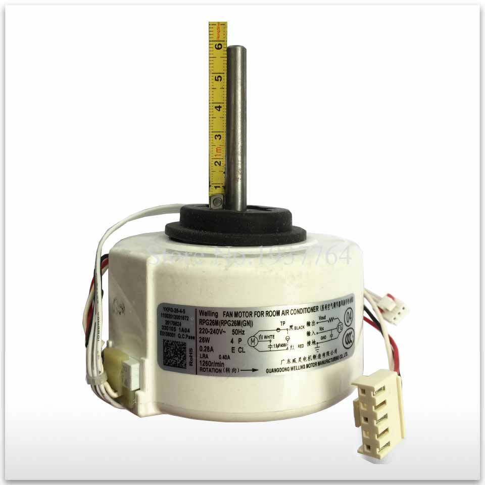 цена на 100% new for air conditioner motor RPG28D RPG26M DC motor good working