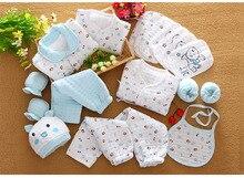 Set Cotton Newborn Baby Clothes