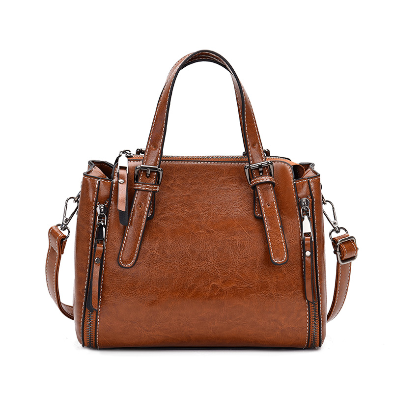 Black Leather Tote Bags Ladies Hand Crossbody Bags For Women Luxury Handbags Designer Bolsa Feminina