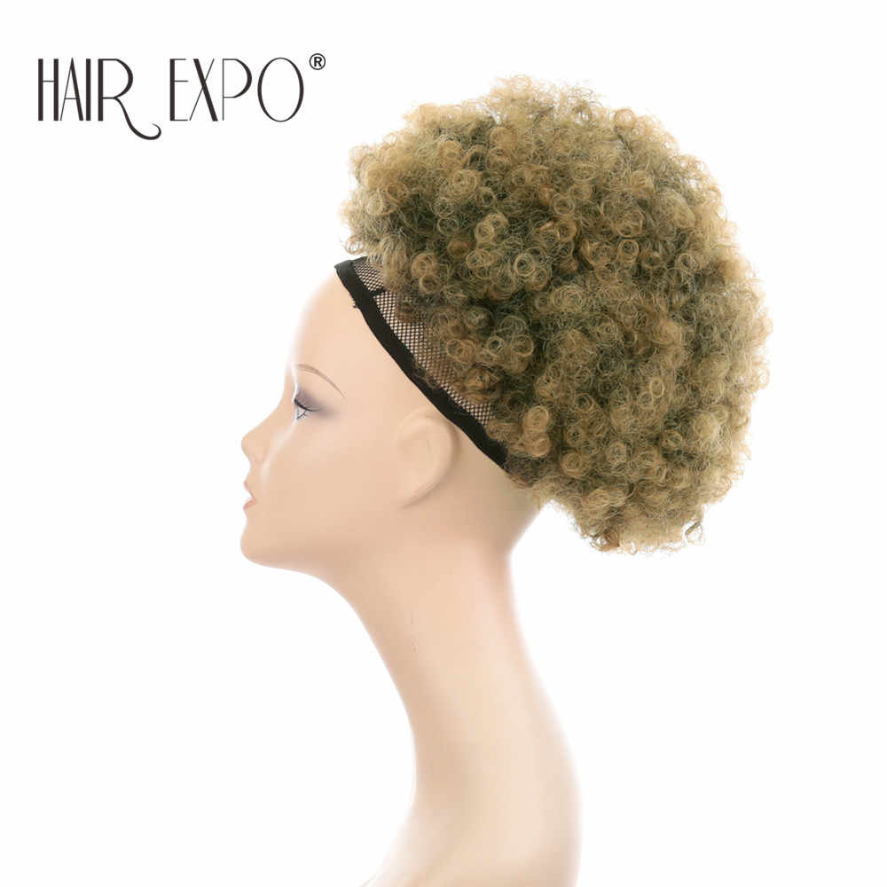 detail feedback questions about 10inch afro puff curly