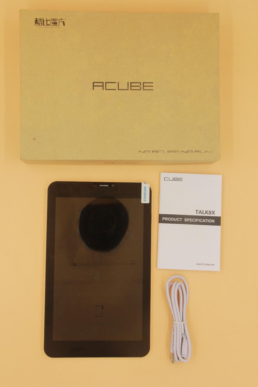 Prix pour Cube talk8x parler 8x3G WCDMA Appel Téléphonique Tablet Ultra Slim 8 pouces IPS 1280*800 Octa Core MT8392 Double Caméra 8 GB Rom GPS Bluetooth