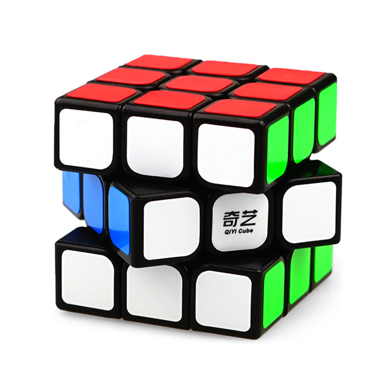 QiYi 3x3x3 Sail Magic Cube Warrior W Speed QiYi Cube stickerless Professional Puzzle Cubes Educational Toys For Children 7